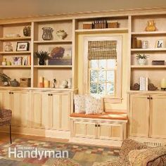 Bookcase and Shelf Tips Building beautiful bookcases and shelving units doesn't have to be hard. Here are some of our favorite ways to simp...
