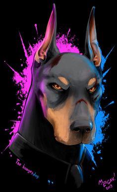 Cute Animal Drawings, Animal Sketches, Dog Wallpaper Iphone, Bernedoodle Puppy, Doberman Love, Arte Sketchbook, Creature Drawings, Pop Culture Art, Cute Horses