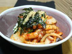 오징어 떡볶이를 만나다, 일품요리