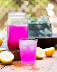 """DragonfruitLemonade (Delicious and a wonderful beverage for a """"girls' afternoon"""")"""