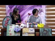 Mulher.com 03/06/2015 Simone Carvalho - Quadro corações dia dos namorados Parte 1/2 - YouTube