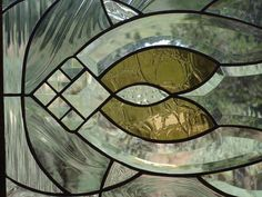 Stained Glass Window Panel CONTEMPORARY CLASSIC '