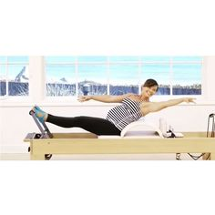 I have a new #reformer class on @pilatesanytimeus! This full body workout is all about channelling into Intuitive Movement. It has some yummy prenatal moves but is great for all bodies! I was 34 weeks #pregnant when I filmed this class ❤️ Here's a sneak peek from the #workout but you can use code MILLER to get 30 days free access to the full website ❤️ Big thank you to #PilatesAnytime for including me in their family and to @toesox for my adorable Bellas!! #pilates #prenatalyoga…