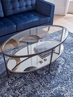 A focal point for any lounge area, our Glass Display Coffee Table is crafted in an aged bronze finished metal into an exquisite oval shape. A tempered glass top is a place to rest your book, whilst your favourite pieces can be displayed beneath, on a sple Granite Coffee Table, Coffee Tables Uk, Coffee Table Furniture, Living Furniture, Conservatory Interiors, Glass Table, Interior Design Living Room, Bronze, Display
