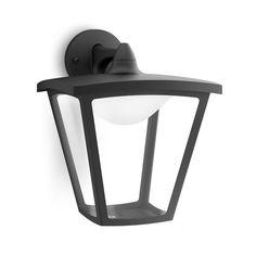 COTTAGE - Applique d'extérieur LED Descendante Noir H28,3cm - Luminaire d'extérieur Philips designé par