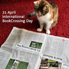 International #BookCrossing Day - April 21 http://www.bookcrossing.com/news/685 http://www.bookcrossing.com #books #reading #literature #culture #sharing