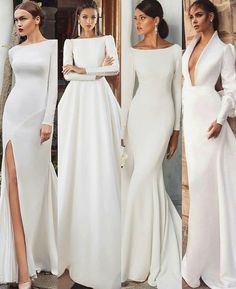 The Perfect Wedding Dress For The Bride - Aspire Wedding Long Sleeve Bridal Dresses, Bridal Gowns, Dream Wedding Dresses, Wedding Gowns, Wedding Venues, Wedding Ideas, Evening Dresses, Prom Dresses, Modest Wedding Dresses