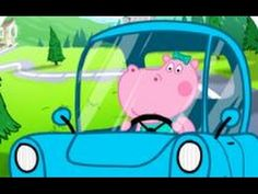 Hippo Peppa Baby Car Racing - Android gameplay Movie  apps  free  kids  ...
