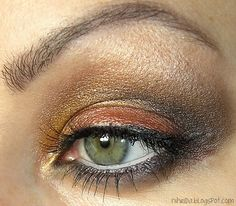 Application: Sleek I-Divine Palette in Sunset