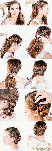 10 Easy No-Heat Summer Hairstyles Tutorials for Girls with Long Hair