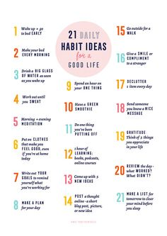 51 positive and healthy habits for a better and more amazing life. You are what you repeatedly do, so start today by implementing one or more of the habits on the list. Good Habits, Healthy Habits, Healthy Tips, Trim Healthy Recipes, Vie Motivation, Morning Motivation, Health Motivation, School Motivation, Healthy Lifestyle Motivation