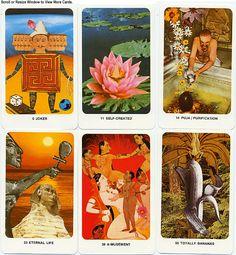 The Secret Dakini Oracle - a Tarot deck by Penny Slinger and Nik Douglas - http://www.tarotgarden.com/