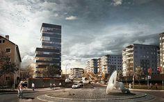 Render by @tegmark ・・・ Housing II | GHILARDI HELLSTEN | Grensevein | Norway | 2012  #tegmark #works #allpossiblerealities #architecture #archdaily #3d #render #3dsmax #cg #cgi #modeling #photoshop #render_contest #renderbox #archfolios #cgartistlab #archilovers #archviz #collage #housing #illustration #art #artworks #design #vray #vr #virtualreality #instarender #housing