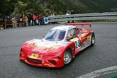 Marc Gutiérrez dio espectáculo en su incursión en el nacional de montaña 2005 al volante del BRC con el que compitió en la cita andorrana del certamen, la Subida a Ordino-Arcalís