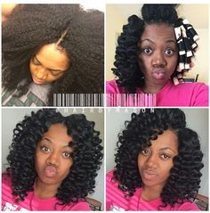 #hairbyMason knotless crochet Looks so natural. braids by Mason pic from instagram.