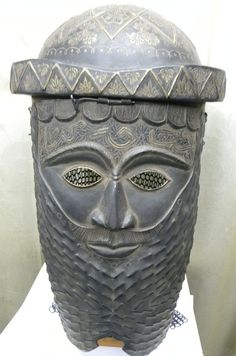 OTTOMAN TURKISH ISLAMIC WARRIOR HELMET& MASK