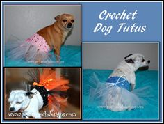Posh Pooch Designs Dog Clothes: Doggie Tutu Free Crochet Pattern