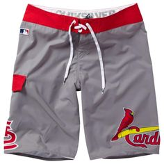 Quiksilver St. Louis Cardinals Boardshorts - Gray  Size 33