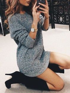 Sweater dresses!!
