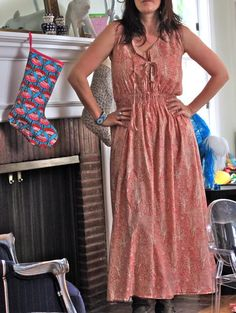 Modern Prairie Dress Tutorial- wow. Need to get the Serger going and see if I can do this!!
