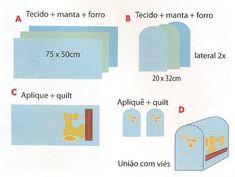 Zuziba Artesanato: Passo a Passo - Capa de Máquina de Costura