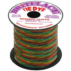 Pack of 8 Rexlace Tie-Dye Assortment