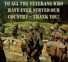 As a soon to be veteran who knows the day to day sacrifices you make; I say this from the bottom of my heart. Thank you!
