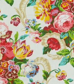 Home Dec Print Fabric-Waverly Spring Bling Spring, , hi-res at Joann.com or Jo-Ann Fabric Stores