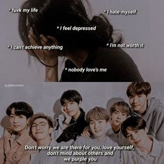 I Feel Depressed, Nobody Loves Me, Im Worth It, Bts Qoutes, Very Funny Jokes, No Worries, Depression, Hate, Love You