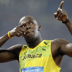 Michael Johnson: I think my Olympic world record is safe from Usain Bolt - for now Usain Bolt Images, Usain Bolt Pictures, Beijing Olympics, Michael Johnson, Sports Personality, Record Holder, Power To The People, Living Legends, Sports Stars