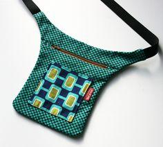 Patrón de riñonera de patchwork
