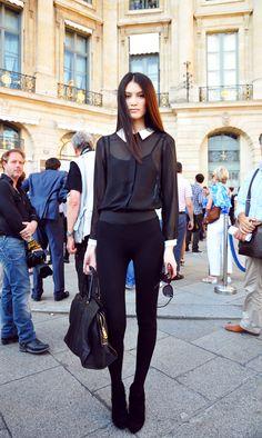 Sui He #streetstyle #fashion #modeloffduty