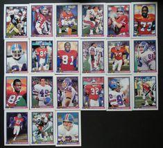 1991 Bowman Denver Broncos Team Set of 21 Football Cards #DenverBroncos