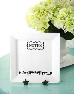 An elegant way to leave notes for your spouse or someone you love!