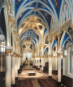 Basilica of the Sacred Heart, University of Notre Dame - Restoration    Notre Dame, Indiana