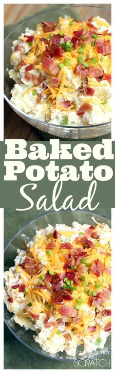 Baked Potato Salad f