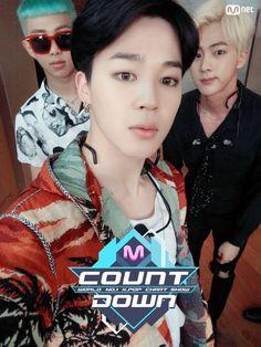 Rap Monster, Jimin, Jin ❤