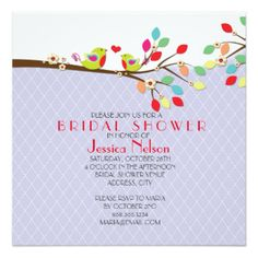 04f88c57cadd ADIStyle Wedding Design. BranchesLove BirdsDamaskInvitation CardsBridal  Shower InvitationsWedding DesignsRomanticBlueGifts
