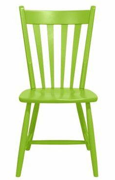 Our fresh take on a Windsor chair is unarguably a modern interpretation. Just like early American Windsor chairs, the Edna dining chair is made in America. Kitchen Chairs, Dining Chairs, Dining Room, Maine Cottage Furniture, Lime Green Kitchen, White Bedroom Chair, Dark Wood Dining Table, Turquoise Chair, Balcony Table And Chairs