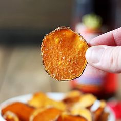 How to make Salt & Vinegar Sweet Potato Chips with only 3 ingredients and no deep fryer!
