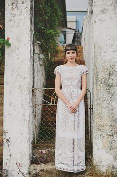 Fabled and True vintage material dress | Lover of Mine
