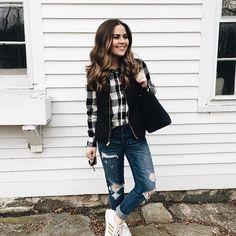 7304ab5d69ec Cute Sneakers, Winter Style, Autumn Winter Fashion, Black Jeans, January, Winter  Outfits. Cori Robinson    Dress Cori Lynn ...