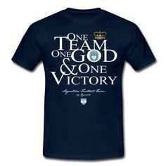 One Team Argentine - citation - football - sport - Tee shirt Homme