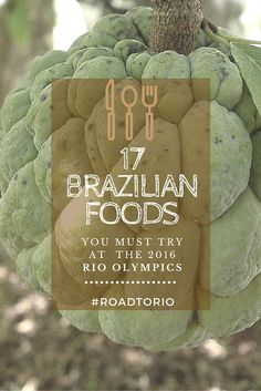 Are you planning a trip to Rio de Janeiro to attend the 2016 Summer Olympics, or just curious about the local cuisine? If so, you'll want to check out our definitive list of Brazilian  foods compiled with the help of the 2016 Olympic Committee.  #RoadToRi