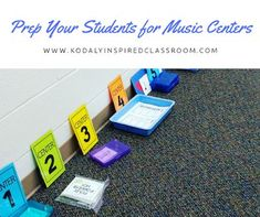 Kodaly Inspired Classroom: Prepare Your Students for Music Centers Music Lessons For Kids, Music Lesson Plans, Singing Lessons, Music For Kids, Piano Lessons, Singing Tips, Singing Games, Music Games, Alone