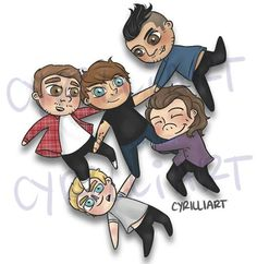 1D by Cyrilliart