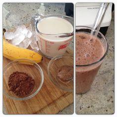 Chocolate Banana Almond Milk Smoothie