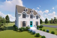 Handsome and Exclusive Traditional House Plan - 500049VV - 07