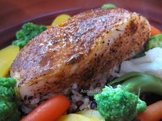 Spicy Baked Cod
