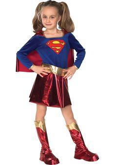Super Girl Deluxe Costume - Child - General at Escapade